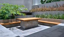 Casa VM: Terrazas de estilo  por Di Vece Arquitectos