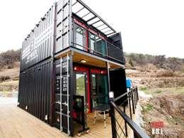 Exterior View:  (주)감동C&D 유니박스의  호텔