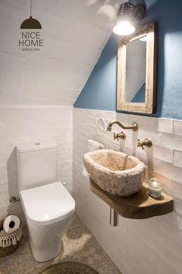 Ванные комнаты в . Автор – Nice home barcelona