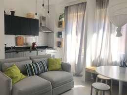 Salones de estilo escandinavo de Home Lifting