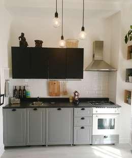 Cocinas de estilo escandinavo de Home Lifting