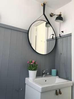 Baños de estilo escandinavo de Home Lifting