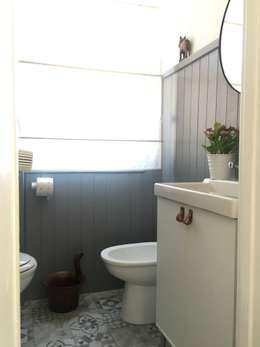 skandinavische Badezimmer von Home Lifting