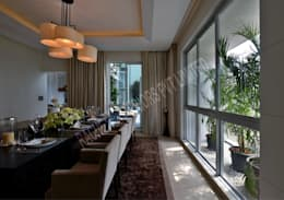 Residence at Pune: modern Dining room by Racheta Interiors Pvt Limited