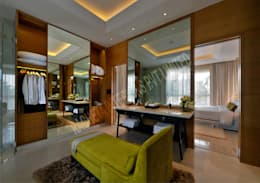 Residence at Pune: modern Dressing room by Racheta Interiors Pvt Limited