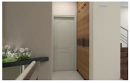 Project in Bachupally @ Praneeth Antilia to Peter:  Corridor & hallway by shree lalitha consultants