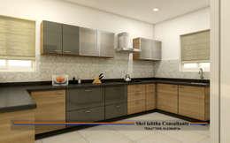 PROJECT @ KUKATPALLY:  Kitchen units by shree lalitha consultants
