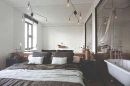 industriële Slaapkamer door Archventil - Architecture and Design Studio