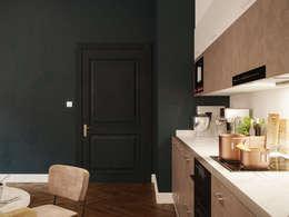 Cocinas de estilo moderno por Archventil - Architecture and Design Studio