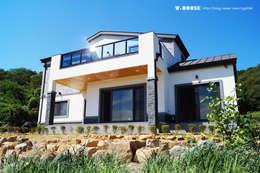 منزل ريفي تنفيذ W-HOUSE