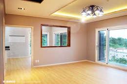 غرفة المعيشة تنفيذ W-HOUSE