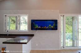 modern Kitchen by W-HOUSE