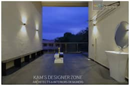 Terrace Interior Design:  Terrace by KAM'S DESIGNER ZONE