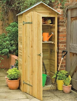 Garages & sheds by Wonkee Donkee Forest Garden