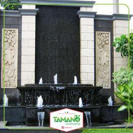 Kolam Minimalis:  Gedung perkantoran by tamano