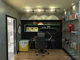Home Office: Escritórios  por Gabriela Cardoso Arquitetura