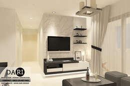 PADDINGTON 2 BEDROOM :  Living room by DARI