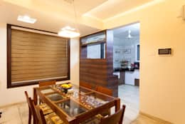Interiors of Bunglow: asian Dining room by Spacecraftt Architects