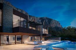 Casas de estilo moderno por SINGULAR STUDIO