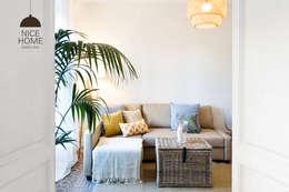 Projekty,  Salon zaprojektowane przez Nice home barcelona