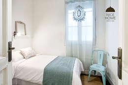 Projekty,  Sypialnia zaprojektowane przez Nice home barcelona