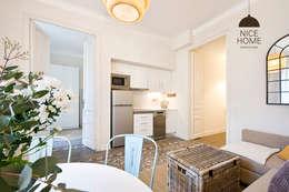 Projekty,  Kuchnia zaprojektowane przez Nice home barcelona
