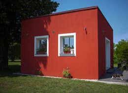 لکڑی کے گھر by Novello Case in Legno