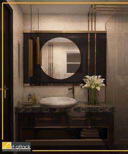 فيلا تاج سلطان:  حمام تنفيذ Art Attack