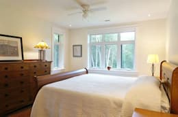 غرفة نوم تنفيذ Solares Architecture