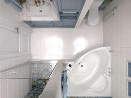 حمام تنفيذ Мастерская дизайна Онищенко Марии