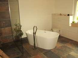 Ванные комнаты в . Автор – PassivHausPartschefeld
