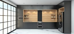 ครัว:  ห้องครัว by บริษัท  ทีซี อินเทอโน่ 456 จำกัด