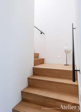 Moderne villa in Woudenberg:  Villa door Architectenbureau Atelier3