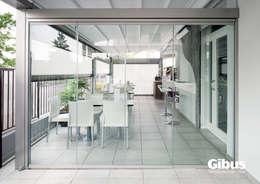 Projekty,  Balkon, weranda i taras zaprojektowane przez Eco Casa System