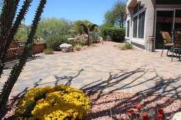 Proyecto Tucson Az.: Jardines de estilo clásico por Arqland arquitectura y paisajismo