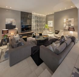 : modern Living room by Spegash Interiors