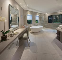 : modern Bathroom by Spegash Interiors
