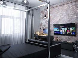 غرفة نوم تنفيذ ivonindesign