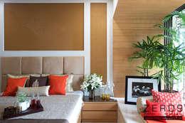 Master Bedroom: modern Bedroom by ZERO9