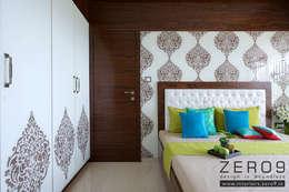 bedroom: modern Bedroom by ZERO9