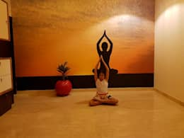 Yoga Room:  Walls by Arch Point