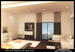 Bedroom: modern Bedroom by Arch Point
