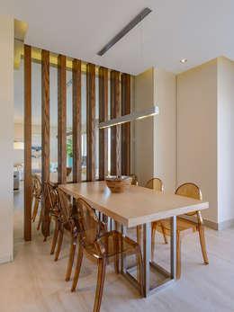 غرفة السفرة تنفيذ Hossam Nabil - Architects & Designers
