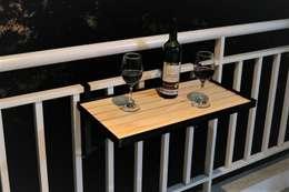 Balcones y terrazas de estilo  por mekano proyectos