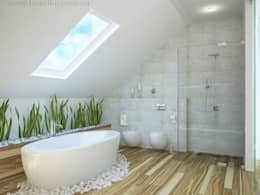 Phòng tắm by Tamriko Interior Design Studio