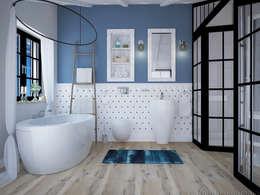 حمام تنفيذ Tamriko Interior Design Studio