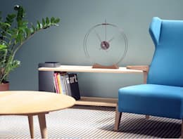 Unique Clock for your Space. : modern Living room by Spacio Collections