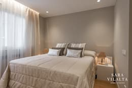 غرفة نوم تنفيذ SV Home Staging