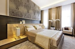 Apartment Design: modern Bedroom by CONCEPTIONS