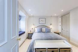 غرفة نوم تنفيذ GK Architects Ltd